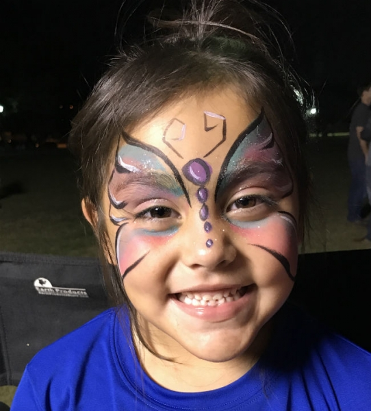 Rhea Brown Face Painter