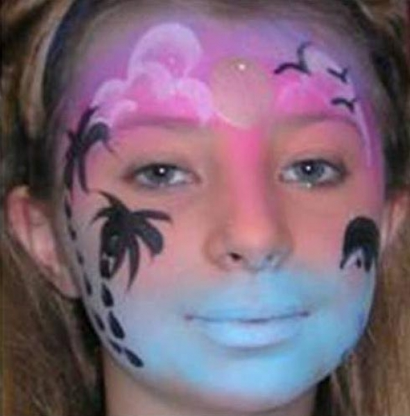 Face Painting by Sally Hansen
