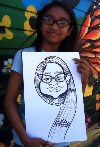 Andrea Leigh Caricature Artist