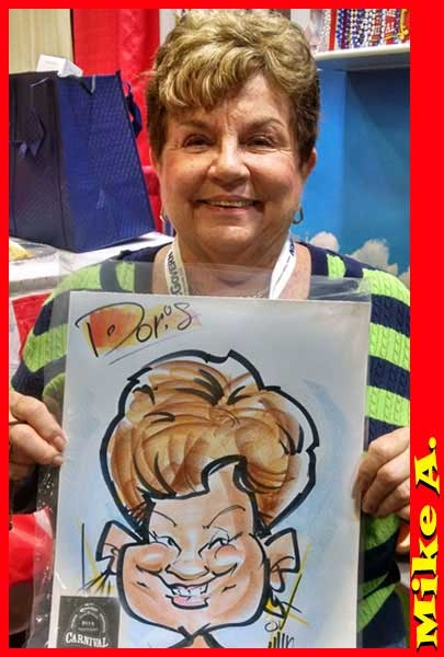 Mike Arnold Caricature Artist