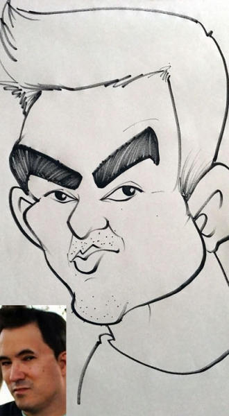 Andre Bland Caricature Artist