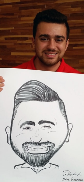 David Wodarek Caricature Artist