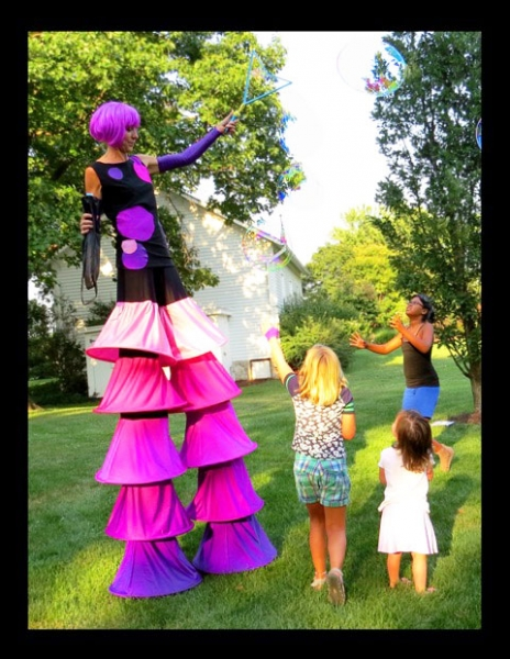 Carrie McQueen Stilt Walker