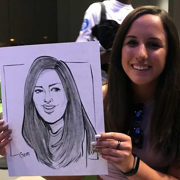 Courtney Sell Caricature Artist