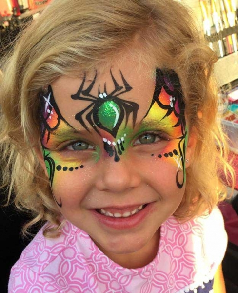 Eva Wheeldon Face Painter