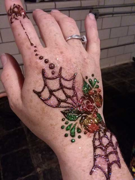 Kristy Aldridge Henna Tattoo Artist