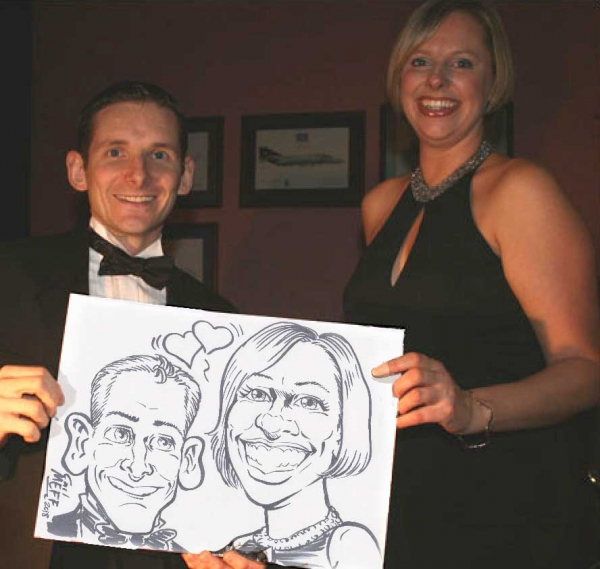 Carl Mefferd Caricature Artist