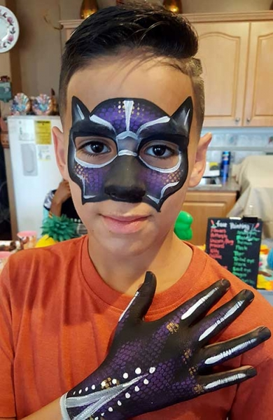 Angie Martin Face Painter