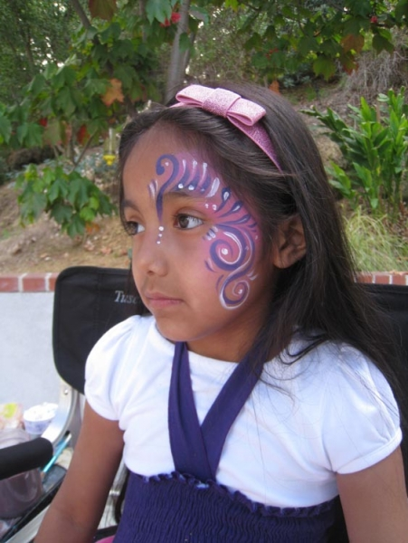 Face painting by Bethany McCarty
