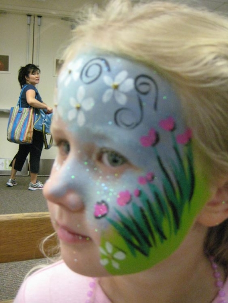 Face painting by Joanna Sachs