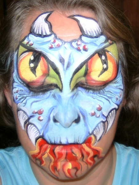 Face painting by Lisa Smiley