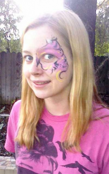 Face painting by Penny Stewart
