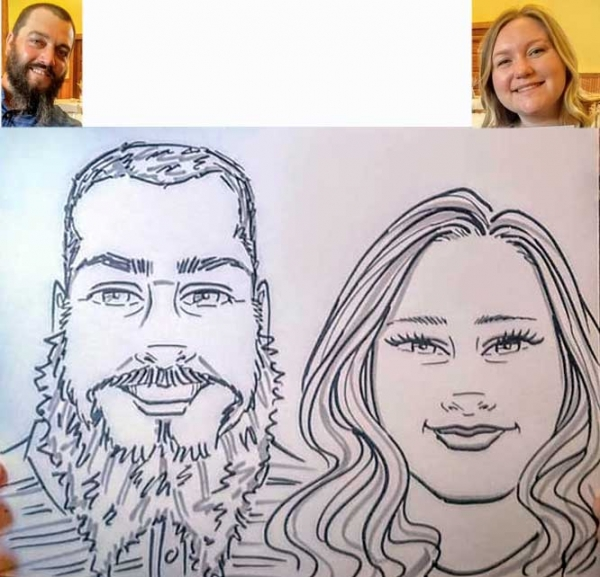 Carolyn Richardson Caricature Artist