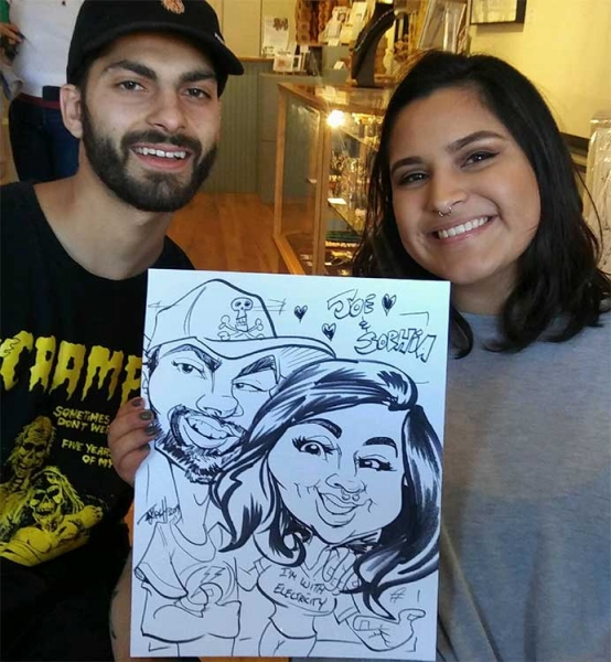 Timothy Kirch Caricature Artist
