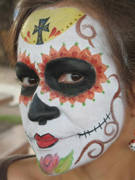 Face painting by Hayley Tassa