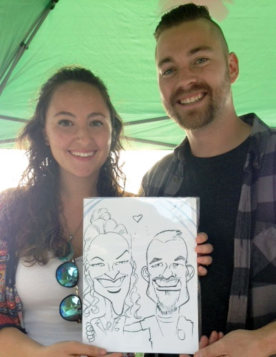 Mark Brennan Caricature Artist