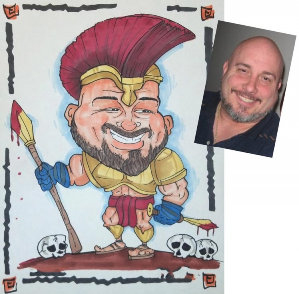 Christopher Eastwood Caricature Artist