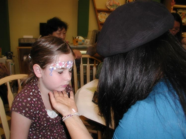 Face painting by Celina Yun
