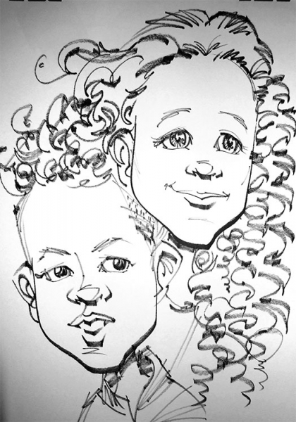 Clarence Butler Caricature Artist