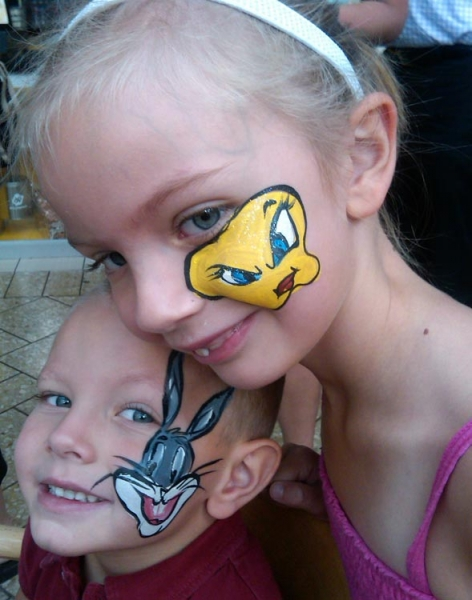 Face painting by Jackie Green
