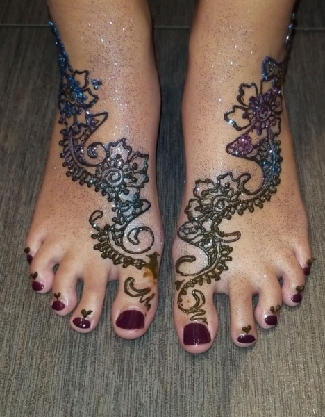 Yolonda Harrington Henna Tattoo Artist