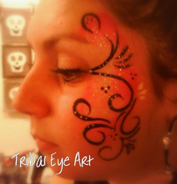 Face painting by Melissa Pinenda