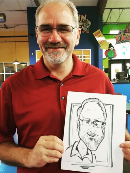 Lawrence Grech Caricature Artist
