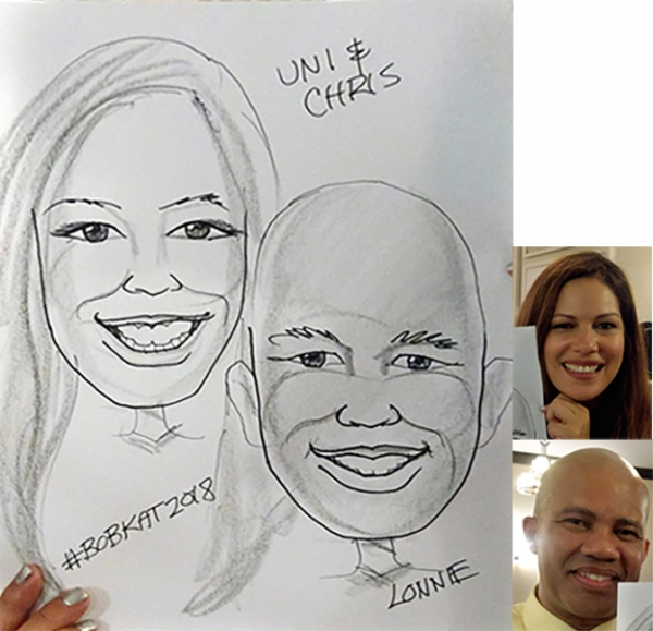 Lonnie Knabel Caricature Artist