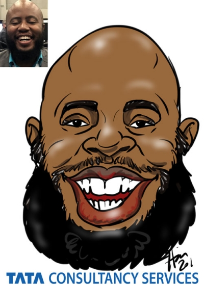 Heather Joy Thomas Digital Caricature Artist
