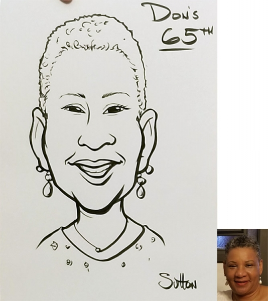 Sam Sutton Caricature Artist