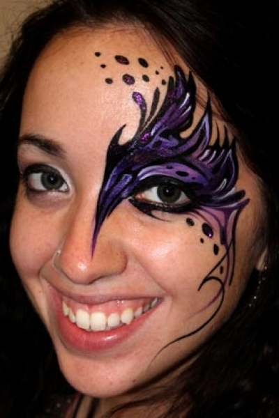 Face painting by Pashur House