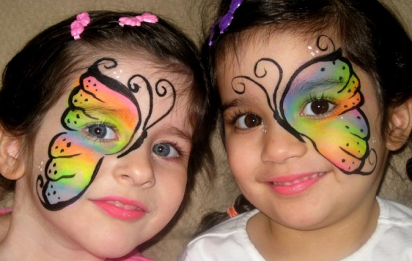 Face painting by Martha Pongracic