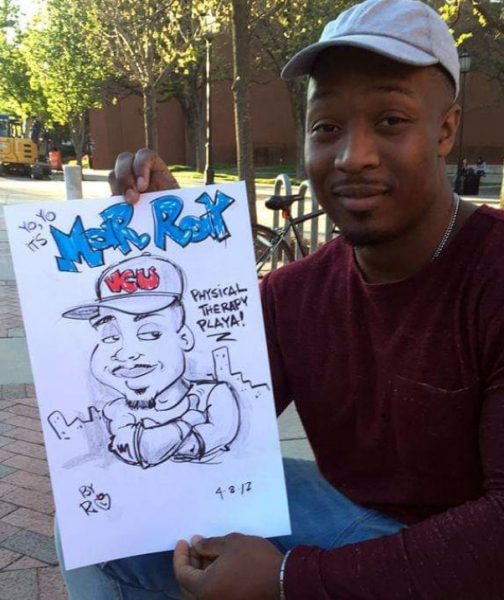 Ron Edwards Caricature Artist