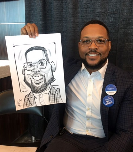 Tim Reed Caricature Artist