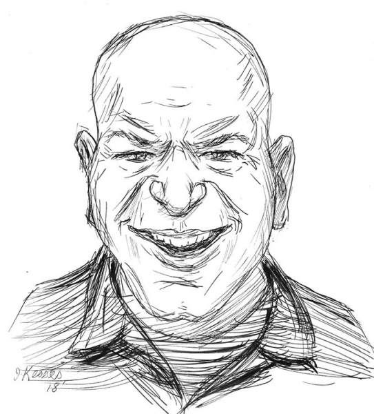 Jeff Kesses Caricature Artist