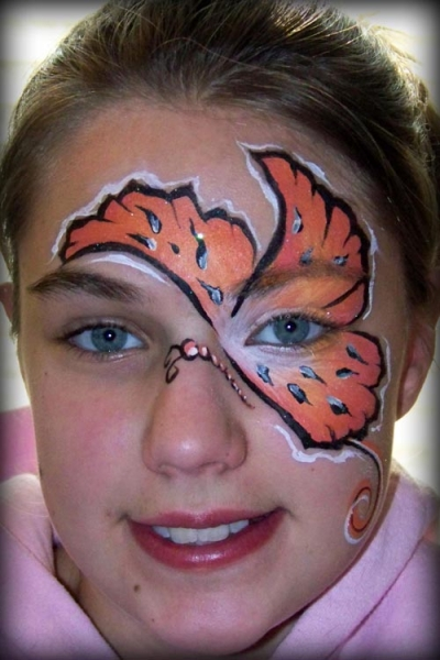Face painting by Brandy Hereth