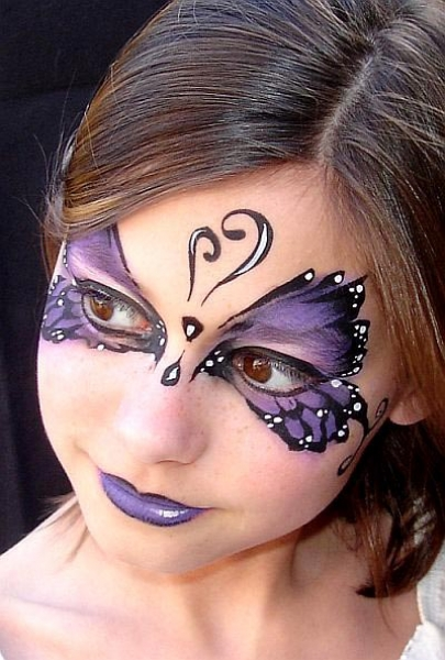 Face painting by Angie Anders