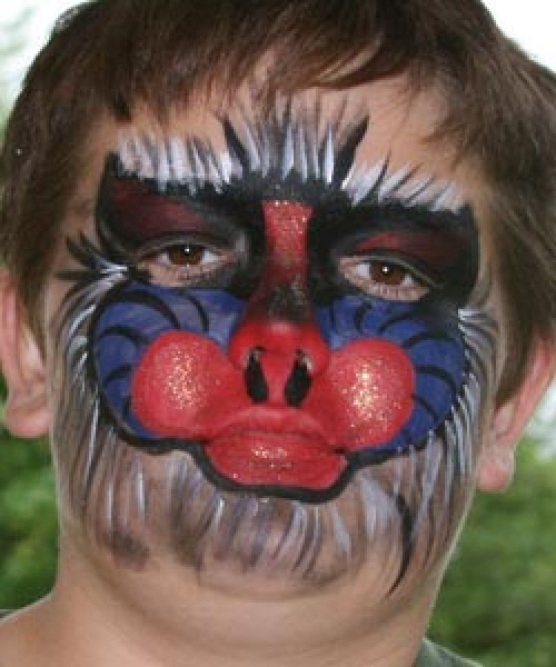 Face painting by Deanna Bussell