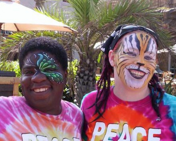 Face painting Audra Johnson