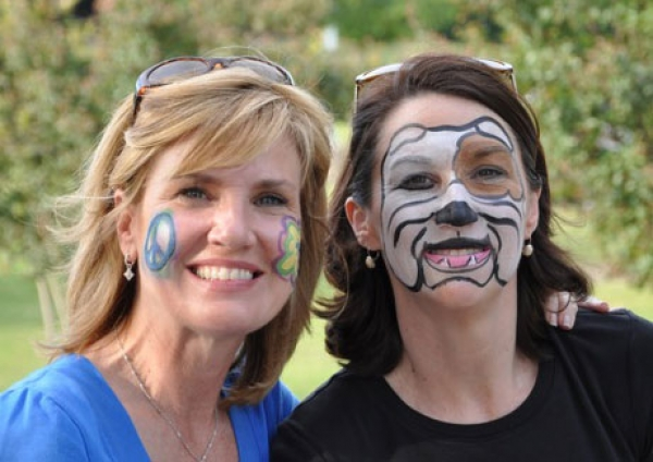 Face painting by Angela Kirsch