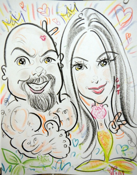Gordon Ng Caricature Artist