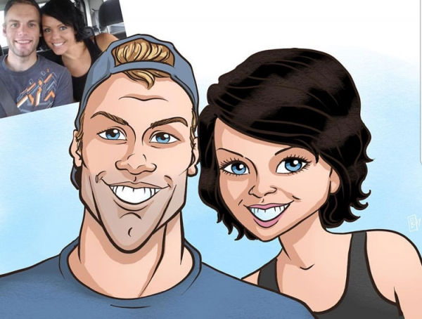 Alex Buie Digital Caricature Artist