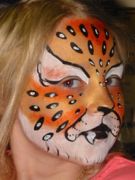 Face painting by Ira Muise