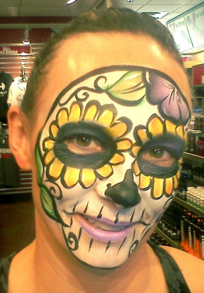 Kate Hartman Face Painter