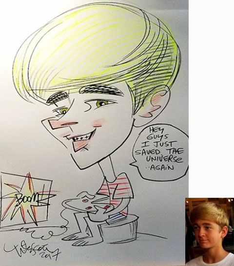 Peter Scott Caricature Artist