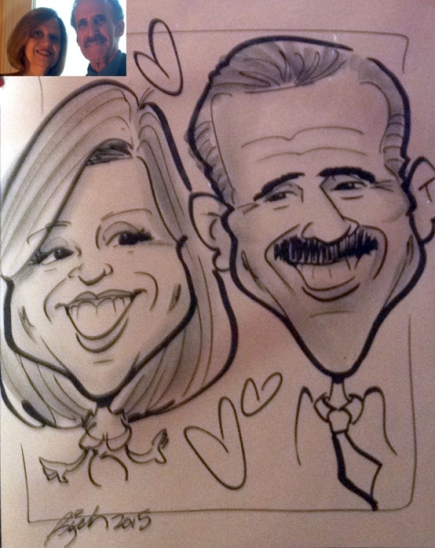 Rich Brown Caricature Artist