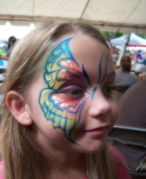 Face painting by Daniel Lasris