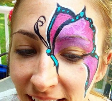 Sara Begin Face Painter