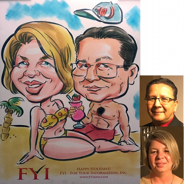 Mike Hasson Caricature Artist