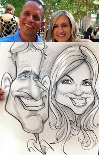 Eric Jones Caricature Artist
